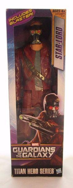 "Marvel Titan Hero Series Guardians of the Galaxy Star-Lord 12"" Action Figure #Hasbro"