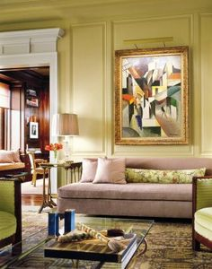 Traditional Living Room by Hein + Cozzi in New York, New York