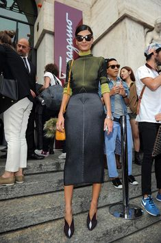 stunning again. Like always  #GiovannaBattaglia in Milan.
