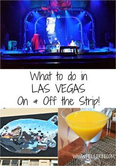 What to Do in Las Vegas – On and Off the Strip - Planning a trip to Las Vegas and don't know what to do?  Check out my list of fun things to do on and off the strip!  Travel planning  couldn't be more fun!