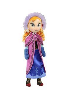 Frozen Anna-pehmo. Sisältää 1 Anna-nuken. 25 cm. Anna Frozen, Disney Frozen, Princess Peach, Princess Zelda, Disney Princess, Disney Characters, Fictional Characters, Link, Ana Frozen