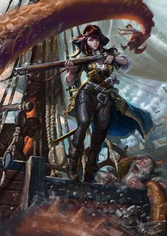 ArtStation - pirate, Kim Junghun