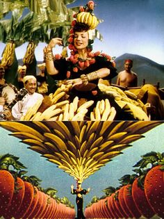 Carmen Miranda- loved the documentary, Beneath the Titti Fruitti Hat-