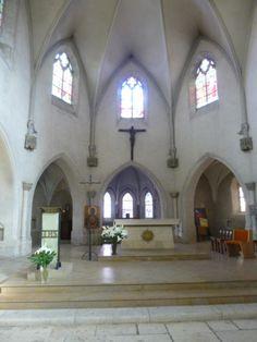 intérieur église Saint Sauveur  Argenton sur Creuse (36)