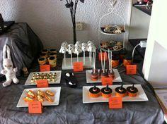 Spook cakepops en heksen cupcakes