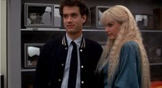 Daryl Hannah (& Tom Hanks <3) in 'Splash'