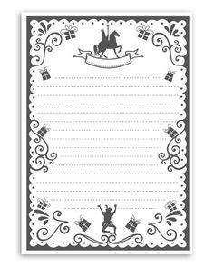 Sint Printable Brief - Gratis printables van Christmas Crafts For Kids, Christmas Printables, Christmas And New Year, Printable Labels, Gratis Printables, Anniversary Crafts, Cadeau Surprise, Aperol, Kids Daycare