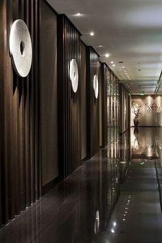Home Decorating Online Games Chinese Interior, Asian Interior, Arch Interior, Interior Architecture, Lift Design, Spa Design, Wall Design, House Design, Hotel Hallway