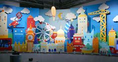 Hattie Newman is a London-based set designer and imagemaker whose work combines pure whimsicality with bold design and execution. She producing work for various clients including Royal Mail, Cadbury,. Stage Design, Event Design, Art Public, Paper Art, Paper Crafts, Tsumtsum, Workplace Design, Exhibition Booth, Booth Design