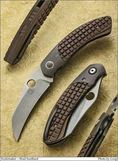 Knifemaker : Brad Southard. Image: SharpByCoop