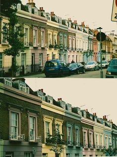 """englishsnow: """" london by hannahmag """" World Street, London Pictures, London City, Camden, Countryside, Britain, Invisible Cities, Explore, Mansions"""