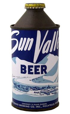 Sun Valley Beer...  You can also use it in your gas tank apparently (based on the shape of the container)....