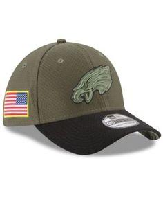 32eec433a15 New Era Philadelphia Eagles Salute To Service 39THIRTY Cap   Reviews -  Sports Fan Shop By Lids - Men - Macy s