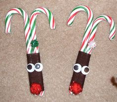 Jean's Crafty Corner: Day 13 of the 20 Days of Christmas: Reindeer Candy Canes