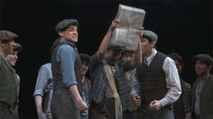 If you haven't seen Newsies yet in cinema, go quickly to get tickets there's not much time left. It's totally worth the 20 dollars I paid to see it. Hopefully it will be officially released digitally soon. #NewsiesForever #JeremyJordan