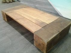 mobilier bois massif on pinterest tables consoles and patio. Black Bedroom Furniture Sets. Home Design Ideas