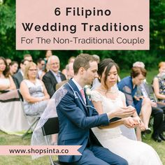 6 Simple Filipino Wedding Traditions For The Non-Traditional Couple Farm Wedding, Wedding Blog, Filipino Wedding Traditions, Philippines, Growing Up, Traditional, Couple Photos, Couples, Simple