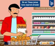 The helper immediately informs the owner, ensuring replacement of the entire batch of juices. #ZimmedarIndia