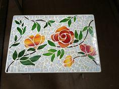 Glass Mosaics - Diana Cole Stained Glass Artist And Poet - glasmosaiken - diana cole glasmalerin und dichterin - - mosaic Animals - mosaic Floor - mosaic Painting Mosaic Tray, Mosaic Tile Art, Mosaic Glass, Fused Glass, Mosaic Animals, Auction Projects, Mosaic Garden, Glass Ceramic, Mosaic Patterns