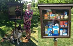 Inspired by Little Free Libraries, Jessica McClard helps address food insecurity.