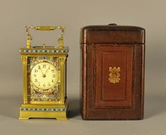 antique clocks champleve repeating carriage c Antique Clocks For Sale, Antiques For Sale, Radio Antigua, Radios, Carriage Clocks, Time Stood Still, Antique Watches, High Art, Rare Antique