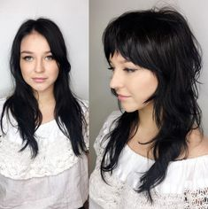 Shag With Bangs And Shorter Layers pony langes 60 Lovely Long Shag Haircuts for Effortless Stylish Looks Long Shag Haircut, Long Bob Haircuts, Short Bob Hairstyles, Shaggy Long Hair, Braided Hairstyles, Medium Shag Haircuts, Beach Hairstyles, Layered Hairstyles, Men's Hairstyle