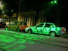 Projection lumineuse Avenue de la Libération. Noémie BSG. Vehicles, Car, Design, Light Fixture, Automobile, Autos, Cars, Vehicle