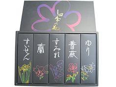 お線香・お香セット 進物用お線香(贈答用・ギフト線香)  フラワーセット 各30g 四季の花 https://www.amazon.co.jp/dp/B00CRT66J6/ref=cm_sw_r_pi_dp_Yo0AxbAEN3Q42