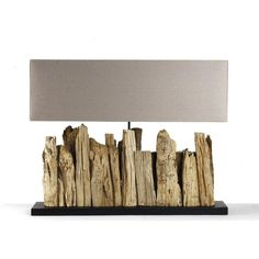 Driftwood Table Lamp - Large