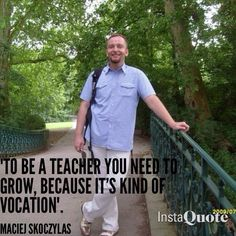 Maciej's quote