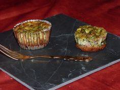 Cheesecakes au bacon et épinards - Lignac