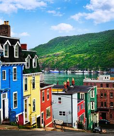 20 Most Colorful Cities In The World St. John's, Newfoundland and Labrador, CanadaSt. John's, Newfoundland and Labrador, Canada The Places Youll Go, Cool Places To Visit, Places To Travel, Places To Go, Travel Destinations, Justin Trudeau, Ottawa, Newfoundland Canada, Newfoundland And Labrador