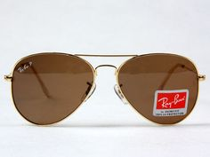 I love just about anything by Ray Ban, but the aviator is my favorite. And who doesn't look good in a pair of aviators?