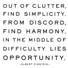 In The Middle of Difficulty...
