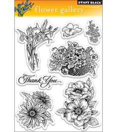 These clear stamps are easy to use with any acrylic block (not included); and feature high- quality and affordable value. Each package contains one 6-1/2x5 inch sheet of clear stamps. Available in a v