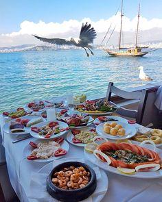 Seafood menu -Milto Restaurant ~~Büyükada (Princes Islands) Istanbul, Turkey // Photo by Derya Korkmaz (@kesifperisi) • Instagram photo