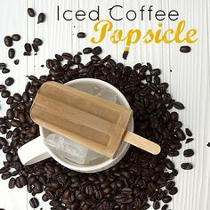 Iced Coffee Popsicle