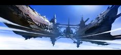 ArtStation - Sky ship, Thomas Pringle