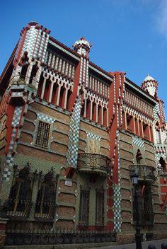Gaudí - Casa Vicens, Barcelona via @Nobuo Tsuchiya