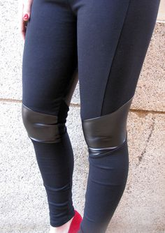 Wrapped in Leather Leggings - BubbaJane's Boutique