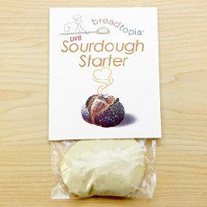 There are lots of different ways to make and maintain your own sourdough  starter. Some people swear by using pineapple juice, some people only use  rye flour, the list goes on. As long as you have flour, water, and wild  yeast, you've got yourself a starter. Basically, a starter is a combination of flour and water that will attract  and feed wild yeast and bacteria. Once your starter is established, you can  add it to a dough to naturally leaven it and add more flavour. Depending on  the…