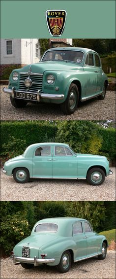 What a beautiful classic car - 1950 Rover cyclops British Sports Cars, British Car, Car Rover, Auto Rover, Coventry, Vintage Cars, Antique Cars, Automobile, Small Cars