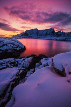 Magic Artic Sunset