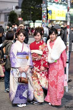 Coming Of Age Day in Japan Kimono (151)