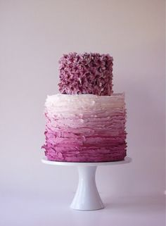 Ombre Wedding Cakes