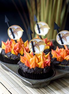 Hunger Games Cupcakes!