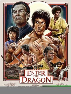 """Robert Bruno Hits Fans With A 1 Inch Punch With A Fantastic Tribute Print To Bruce Lee's """"Enter The Dragon"""" #dogwalking #dogs #animals #outside #pets #petgifts #ilovemydog #loveanimals #petshop #dogsitter #beast #puppies #puppy #walkthedog #dogbirthday #pettoys #dogtoy #doglead #dogphotos #animalcare"""