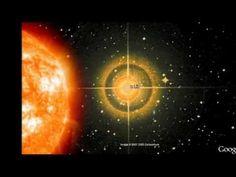 O que são esses 2 sóis ao lado da lua? Google Earth two suns Nibiru Hercólubus Planeta X - YouTube