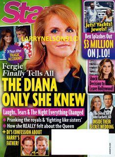 Bo Derek, Ellen Pompeo, Diana, Star Magazine, Everything Changes, 24 Years, For Stars, Confessions, Magazines