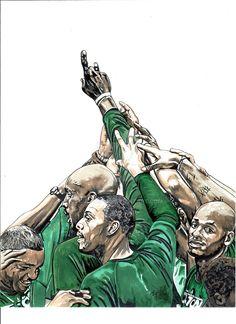 UBUBTO Boston Celtics by coachp42.deviantart.com on @DeviantArt